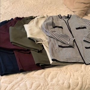 Talbots Sweater Jacket Bundle